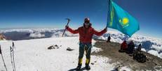 Well done Gennadiy! KPO's flag atop of Mount Elbrus